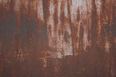 Metal Rust Background, old metal iron rust texture, rust on the surface royalty free stock photography