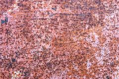 Metal Rust Background Metal Rust Texture. Beautiful unusual background. Rusted white painted metal wall. royalty free stock image