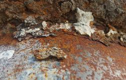 Metal rust. Background,texture,wallpaper Royalty Free Stock Images