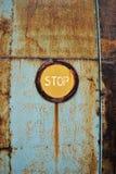 Metal Rust Door Stock Photo