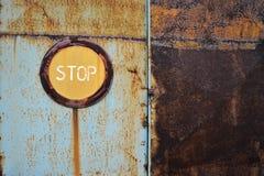 Metal Rust Door Royalty Free Stock Photography