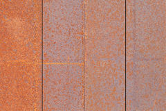 Metal rust plate wall texture Stock Photography