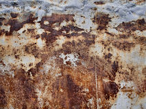 Metal corrosion texture, abstract grunge background stock images