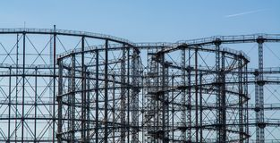 Metal rusted structure Stock Images