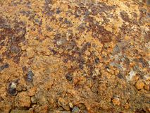 Metal rusted surface Royalty Free Stock Images