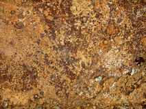 Metal rusted surface Stock Photos