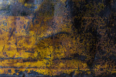 Metal rusty corroded texture background Royalty Free Stock Photography