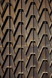 Metal rusty fence. Decorative parts of metal gates. Texture of o. Ld metal background. Geometric pattern. Concept: creative, fence Stock Photos