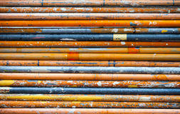 Metal Rusty Pipe Background Stock Photography