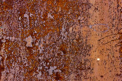 Metal rusty red grunge texture Royalty Free Stock Photo