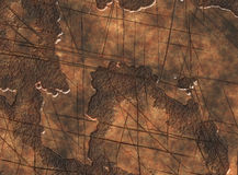 Metal rusty scratch texture Royalty Free Stock Photos