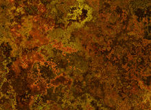 Metal rusty texture. painted backgrounds Stock Photos