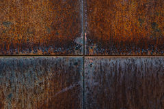 Metal rusty wall Stock Photography