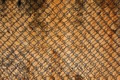 Metal rusty wire Stock Photo