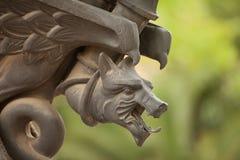 Metal rzeźba Zdjęcia Stock