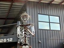 Metal rzeźba, Austin, Teksas obraz royalty free