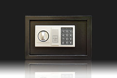 Metal safe -  Stock Image