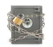 Metal safe Royalty Free Stock Image