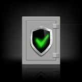 Metal safe Royalty Free Stock Photography