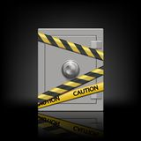 Metal safe Royalty Free Stock Photo