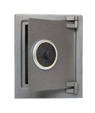 The metal safe. Royalty Free Stock Images