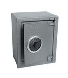The metal safe. Stock Images