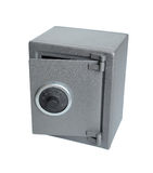 The metal safe. Stock Photos