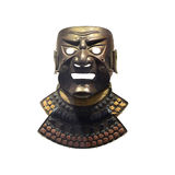 Samurai mask Stock Photos
