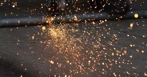 metal sawing Royalty Free Stock Photos