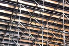 Metal Scaffolding Royalty Free Stock Photo