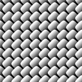 Metal scale seamless pattern Royalty Free Stock Photos