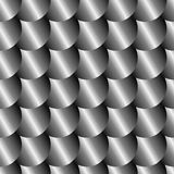 Metal scale seamless pattern Stock Photo