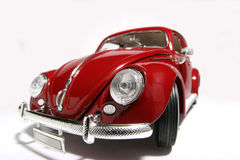 Metal scale toy model old VW Beatle 1955 fisheye #3 Royalty Free Stock Images