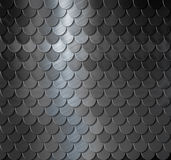Metal scales background Royalty Free Stock Images