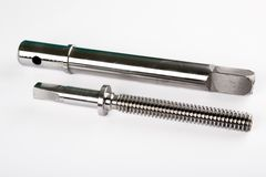Metal Schrauben Lizenzfreies Stockbild