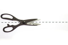 Metal scissor Stock Photos