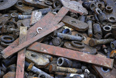 Metal scrap Stock Photos