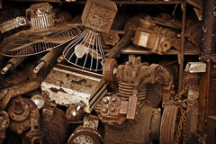 Metal scrap Stock Photography