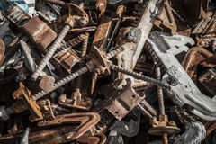 Metal scrap Royalty Free Stock Photography