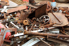Metal scrap Royalty Free Stock Image