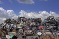 Metal Scrap Recycling Royalty Free Stock Image