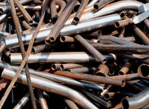 Metal scraps Stock Photos