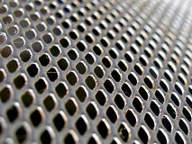Metal screen door Stock Image