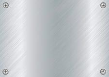 Metal screw plate Stock Image