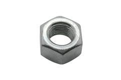 Metal Screw Steel Nuts Stock Photography