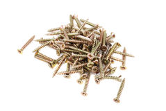 Metal screws Stock Photo