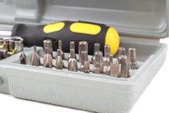 Metal screws Royalty Free Stock Photo
