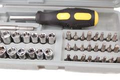 Metal screws Stock Photos