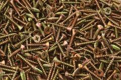 Metal screws Royalty Free Stock Photos