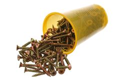 Metal screws Royalty Free Stock Image